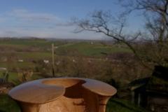 Winged bowl: Oak